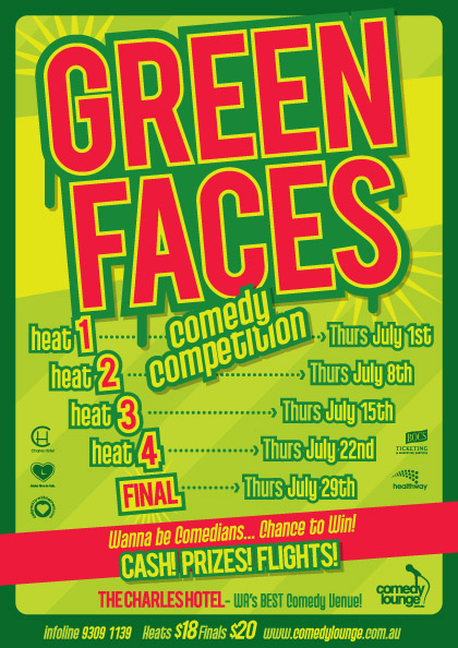 Green Faces Comedy